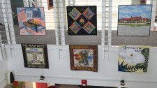 Challenge Quilts in the Visitor's Center