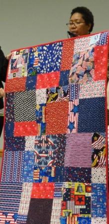 Marietta's Patriotic Quilt