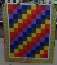 Mary Nell Magee, Sample for Kids Quilt Camp