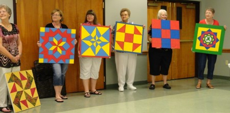 July-Barn Quilt signs
