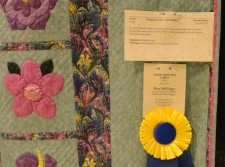 by Dorothy Dailey, Hand Quilting-Large award