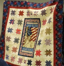 Mississippi Minutemen Raffle Quilt by Mary Nell Magee