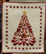 Applique Christmas Tree Workshop by Donna Burges February 25