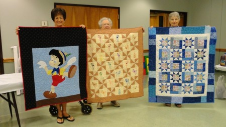 Winners from 2014 Parade of Quilts