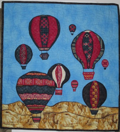 Up, Up and Away by Jo-Ann Evans