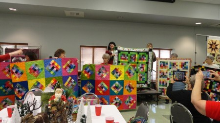 Quilts made from Bingo Blocks